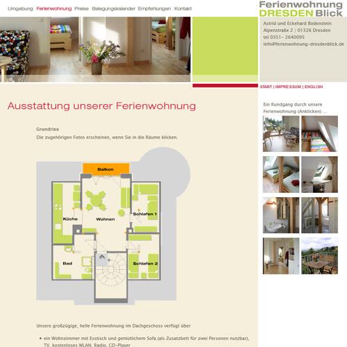 Ferienwohnung DresdenBlick