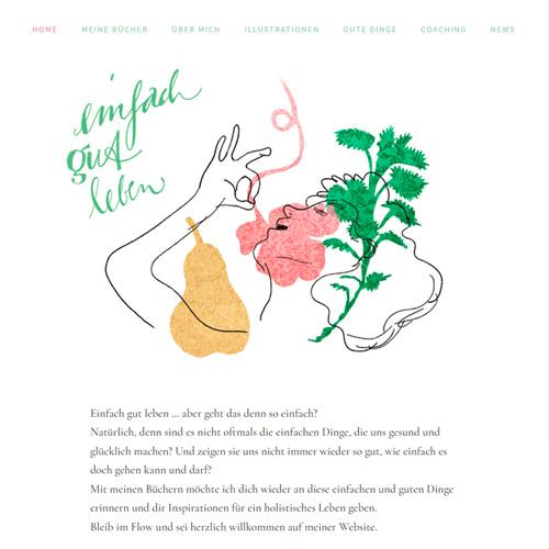 "Website ""Einfach gut leben"""