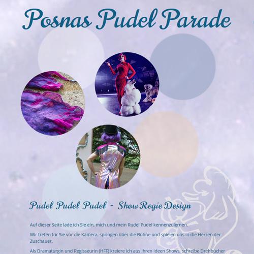 Website Posnas Pudel