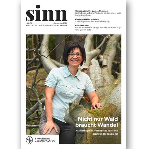 """""""sinn"""" – das neue Magazin der Evangelischen Akademie Sachsen"""