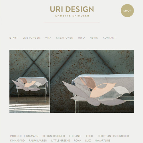 Website Uri Design