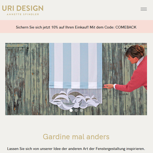 Website Uri Design
